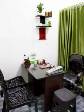 Air Conditioned Homeopathy Clinic for sale in Chavakkad.