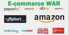 E commerce Service provider(Listing/Portal Managing /Brand Approval)