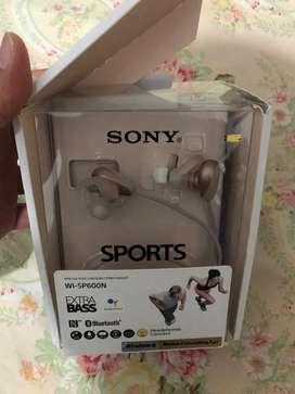 sony WI-SP600N wireless earphone in-ear noise cancelling bluetooth