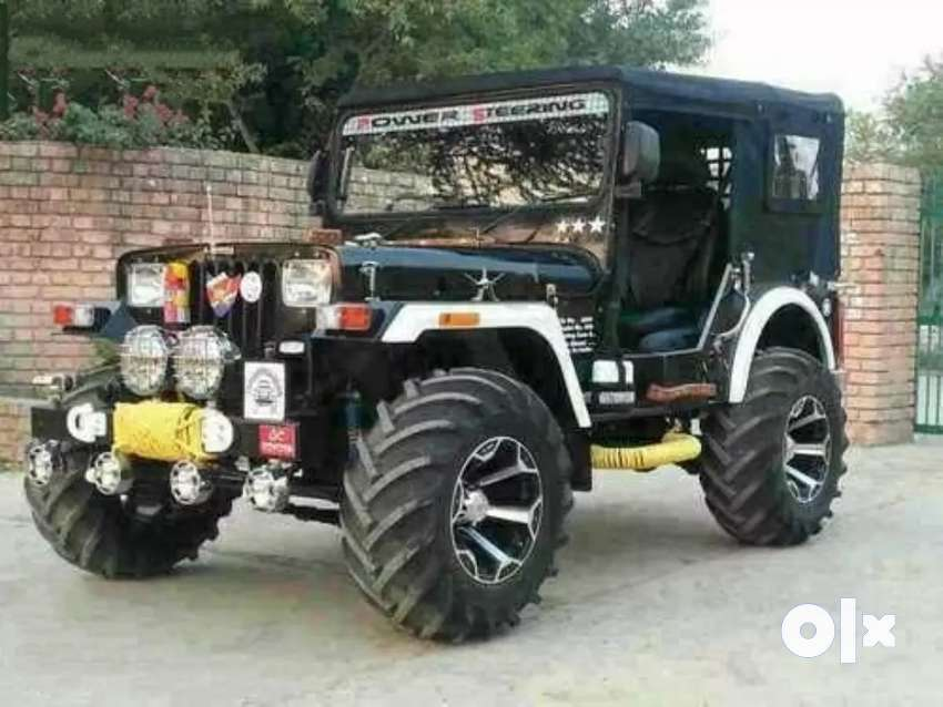 Full modified jeep ready 0