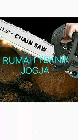 Chain saw adapter dng gerinda listrik