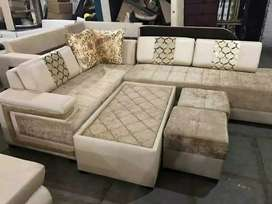Corner sofa set with quality materials manufacture on oder