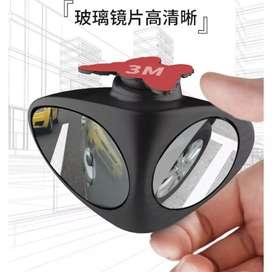 3R Kaca Spion Blindspot Wide Angle Big Vision Left - HT-051 - Black