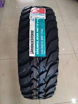 Bridgestone Dueler MT D674 Ukuran 245/75 R16 Ban Mobil Strada Triton