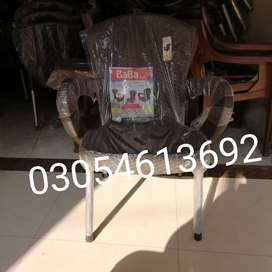 Plastic chairs set 4 chairs 1 table home delivery services