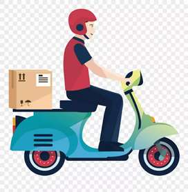 Bikers Delivery boy