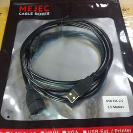 Kabel usb extension 1.5M Mejec high quality