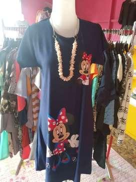Ready Dress / Tunik Mickey Mouse