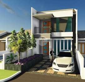 Jual Rumah Baru 2 Lantai Ever Green Arcamanik