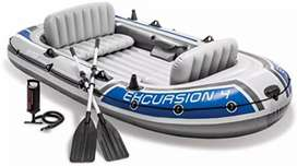 Intex Excursion 4 person Inflatable Boat Series