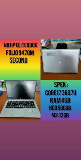 Dijual Laptop HP Elitebook Folio 9470M Bekas