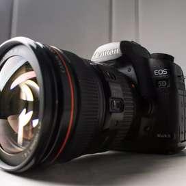 Canon 5D Mark II lensa 24-105mm f4.0 L