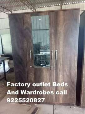 Factory sale visit today for offers!! Wadrobes SLIDING Bed's Almari