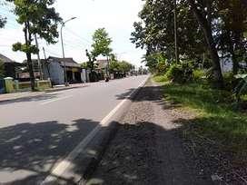 Tanah murah Sragen dekat pintu tol jalan raya solo Sragen