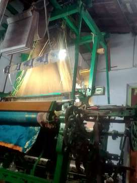 Power loom underpick 1*2 with 400 hook's jacquard