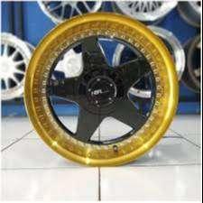 Velg VS H1929 HSR R17X85/95 H8X100-114,3 ET38/25 BK/GOLD