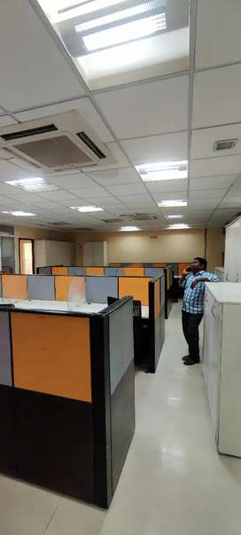 Mount ground Anna salai fully furnished office rent 1750sqft 31w/s