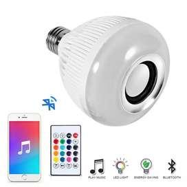 Smart lamp bisa ganti warna dan bluetooth speaker