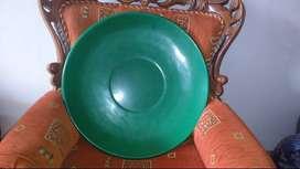 Piring Giok Antik Bergambar 4 Naga dan Cina Budha