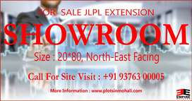 JLPL Extension Showroom 20*80 Available For Sale in Mohali