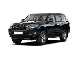 Get a car Toyota Prado in lowest markup rate