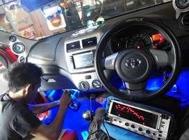 Paket audio mobil SQatau SPL garansi instal 2thn