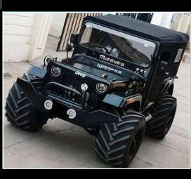 Hunter modified jeep by akhand automobiles in Pune