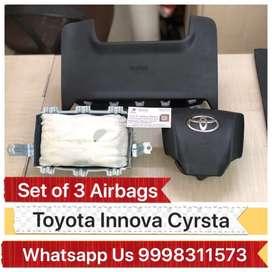 Thummalagunta Hyderabad Innova Cyrsta Airbags