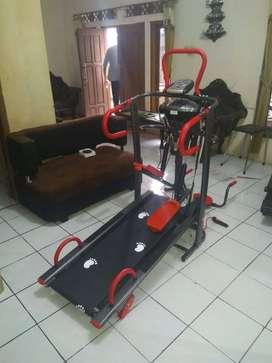 promo treadmill manual 6 fungsi harga murah bisa cod bayar ditempat
