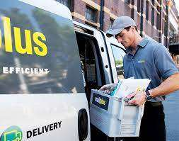 COMPANY PROVIDED  BUSINESS COURIER DELIVERY AND PAYMENT COLLECTION