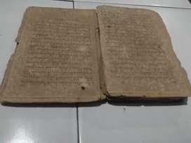 Buku kuno tulisan  jawa