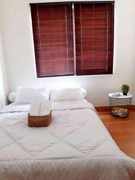 Apartemen Sudirman Park 2 bedroom siap huni