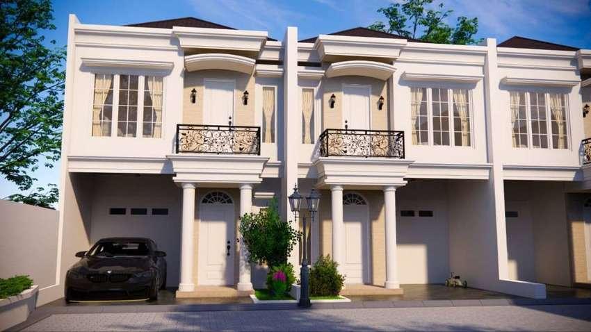Rumah *RAMOS* Baru 2 LANTAI di Pondok Cabe Pamulang Kota Tangsel MURAH 0