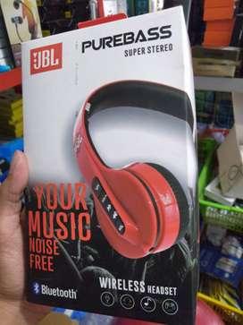 head set bluetooth headphone bando pure bass head phone dicas