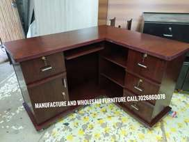 L shape office and cash table 4 by 4 factory price manufactur wholesal