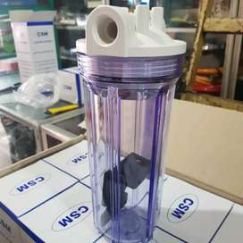 Wadah Filter air isi ulang 10 inchi