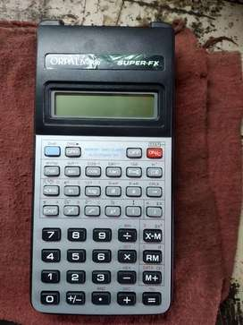 Orpat fx100D scientific calculator