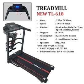Treadmill elektrik sepeda statis home gym GT 5600