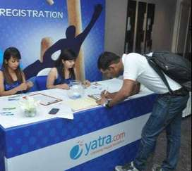 Yatra  process job openings for CCE /Back office positions in Delhi