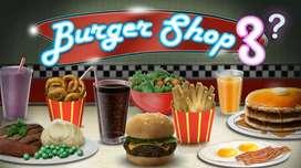Staff for burger shop