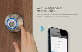Your Smart Phone is Your Key, Wifi Electric Door lock access control