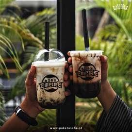 Franchise Minuman Boba Empire Terlaris