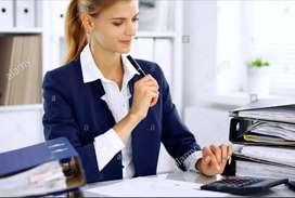 We are hiring female Receptionist
