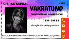 Vakratund computer hardware software solutions job vacancy available