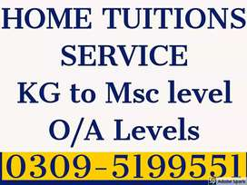 Get Tutors for all classes In all Sectors. F, G, H, I, E & Bahria, DHA