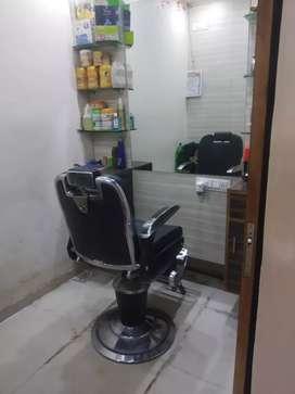 Full furnished shop. Basement shop