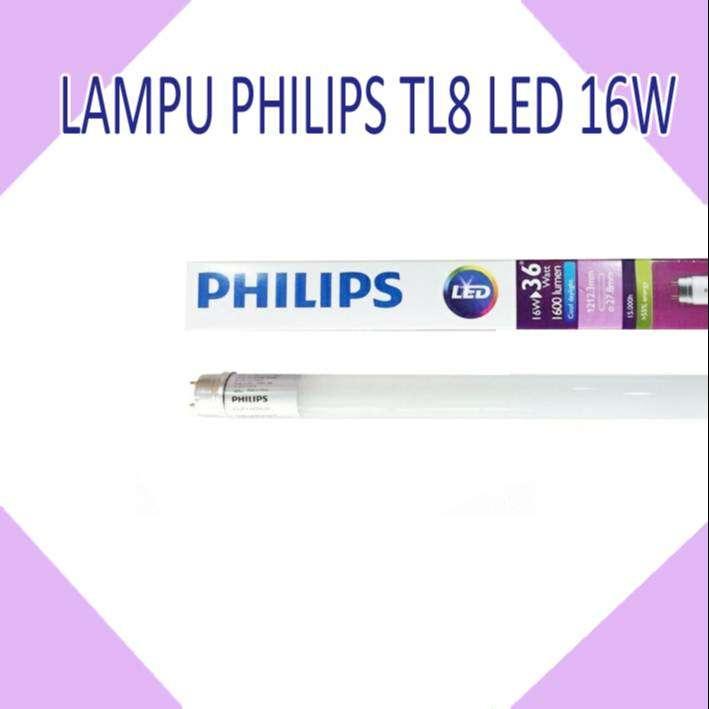 LAMPU PHILIPS TL8 LED 16W 0