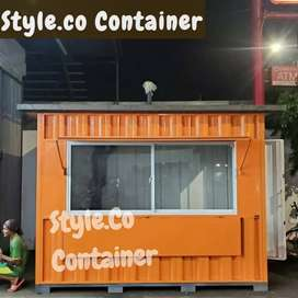 PROMO TAHUN BARU   BOOTH CONTAINER CUSTOM   CONTAINER FRANCHISE  