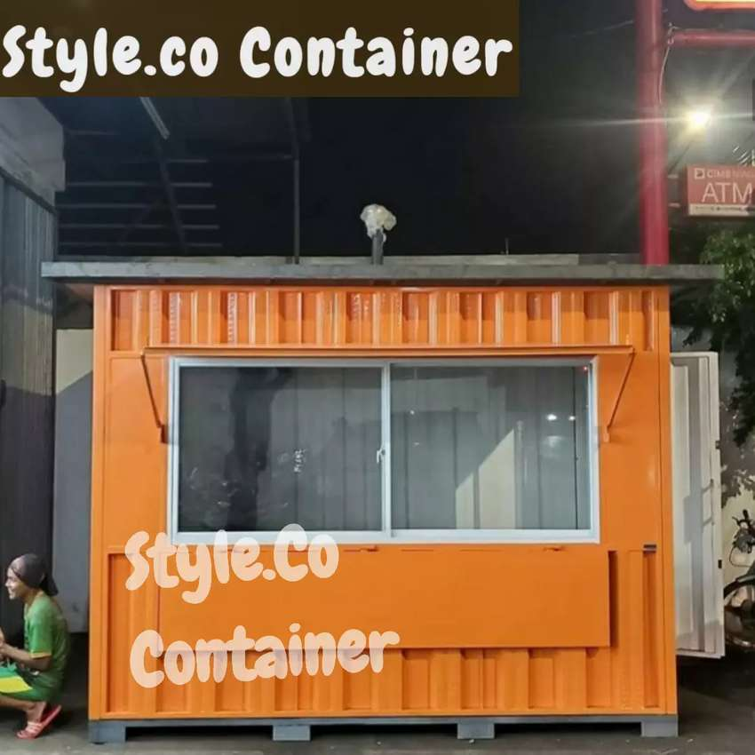 PROMO TAHUN BARU | BOOTH CONTAINER CUSTOM | CONTAINER FRANCHISE | 0