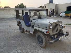 Mahindra Jeep with guenue engine DI 1994 model good maintain 3gear